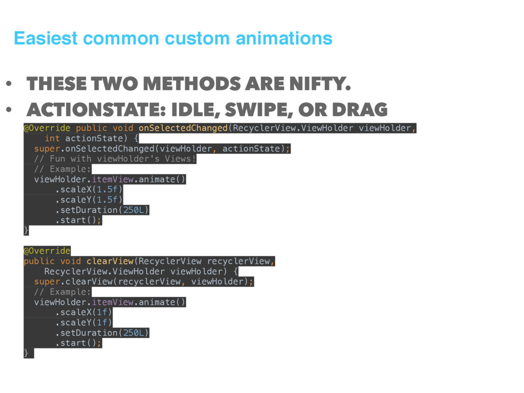 Easiest common custom animations • THESE TWO ME...
