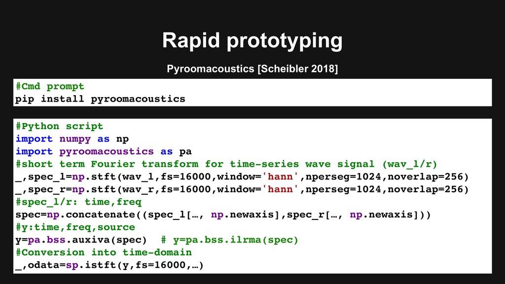 Rapid prototyping #Python script import numpy a...