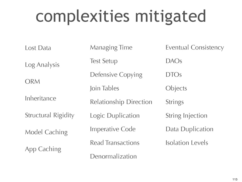 complexities mitigated Lost Data Log Analysis O...