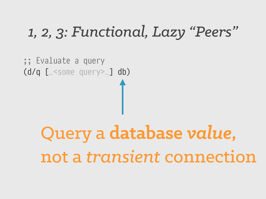 """1, 2, 3: Functional, Lazy """"Peers"""" ;; Evaluate a..."""