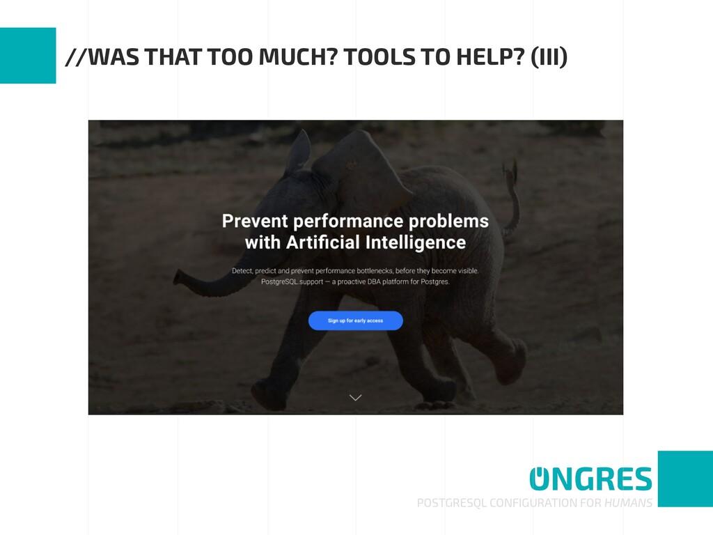POSTGRESQL CONFIGURATION FOR HUMANS //WAS THAT ...