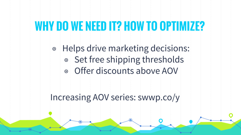 WHY DO WE NEED IT? HOW TO OPTIMIZE? ◉ Helps dri...