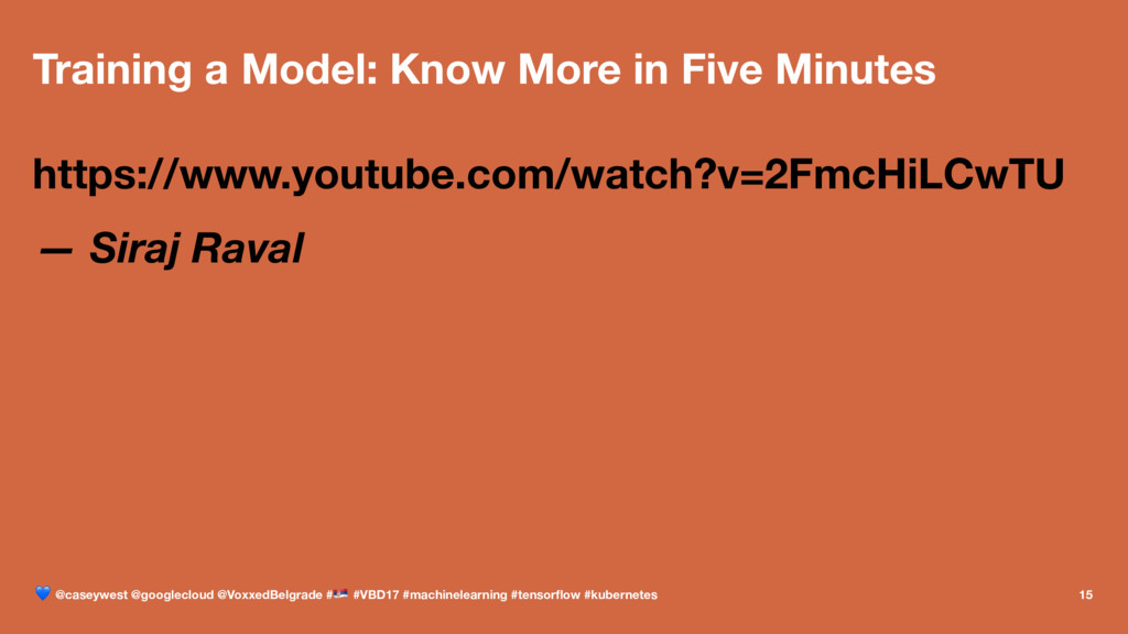 Training a Model: Know More in Five Minutes htt...