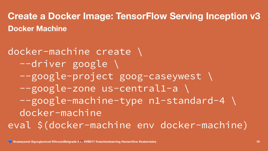 Create a Docker Image: TensorFlow Serving Incep...