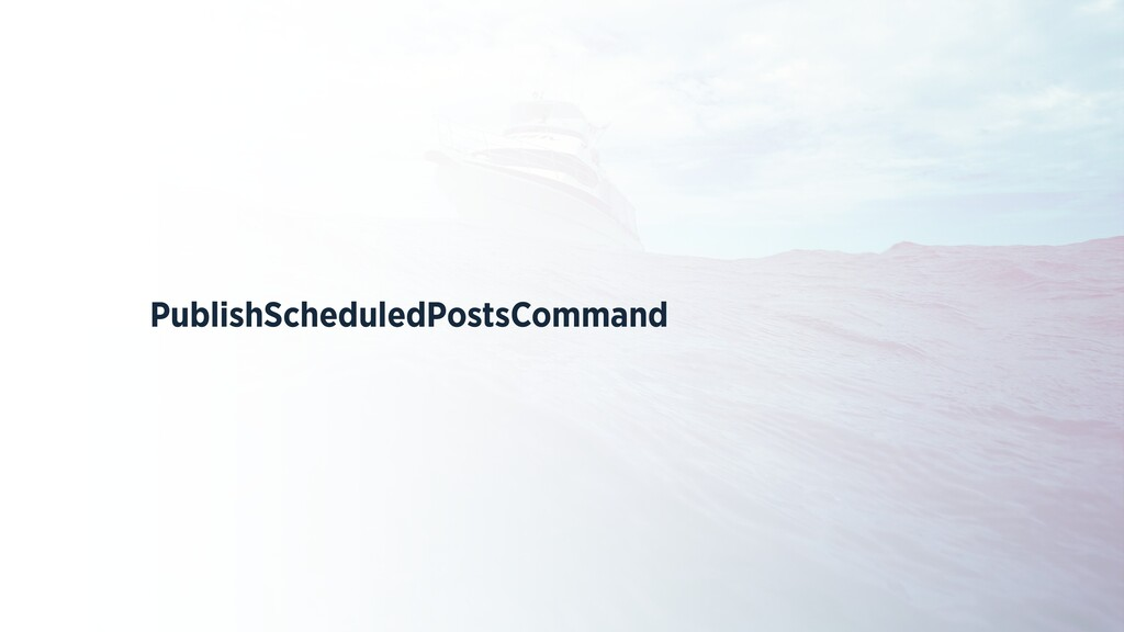 PublishScheduledPostsCommand