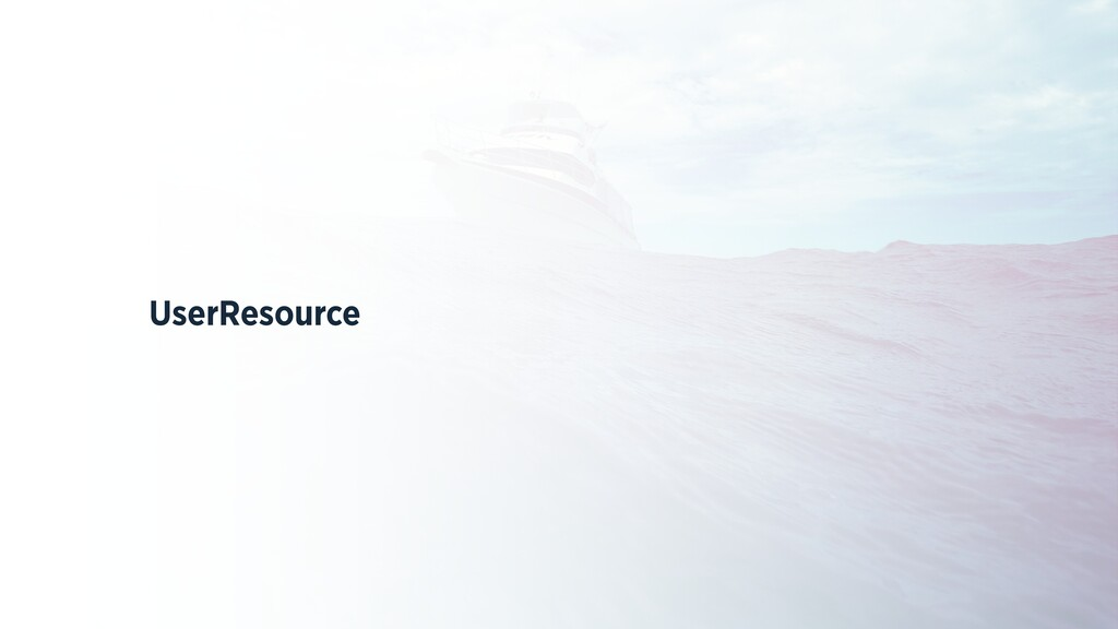 UserResource