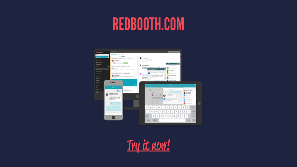 REDBOOTH.COM Try it now!