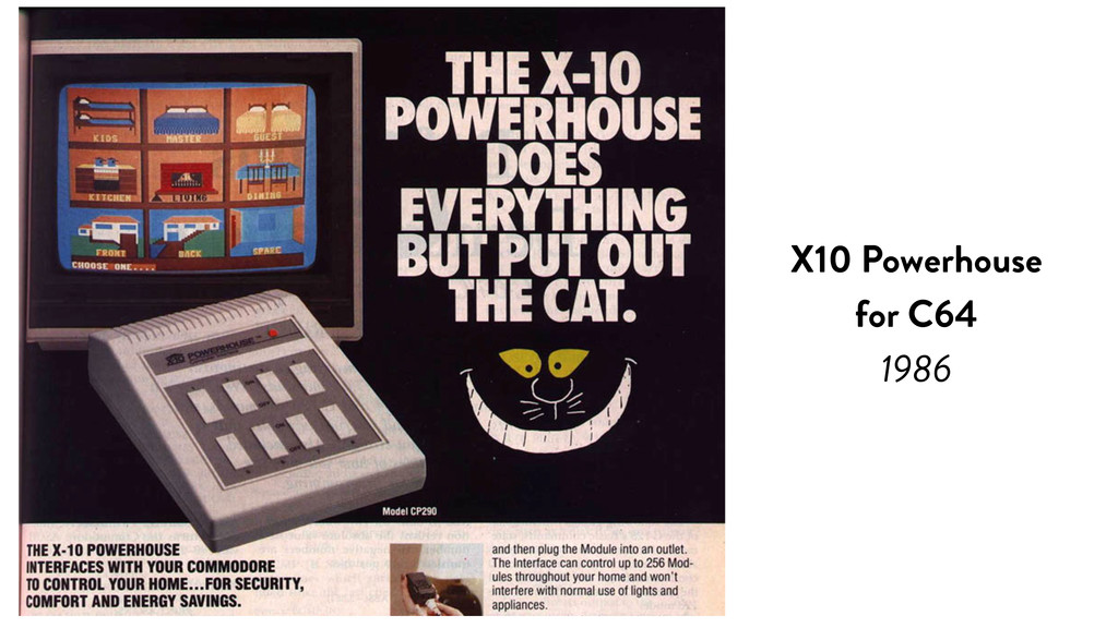 X10 Powerhouse for C64 1986
