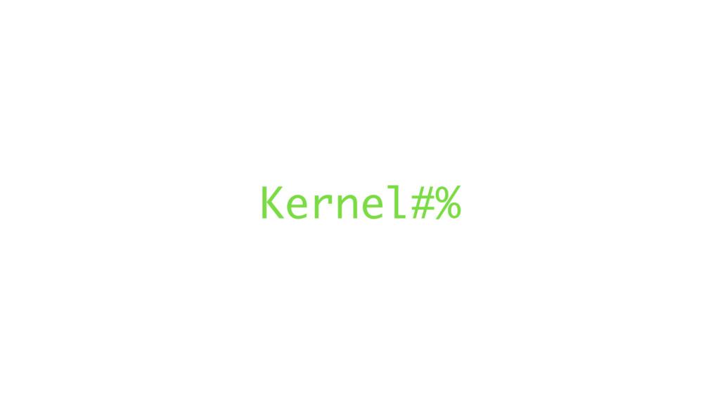 Kernel#%
