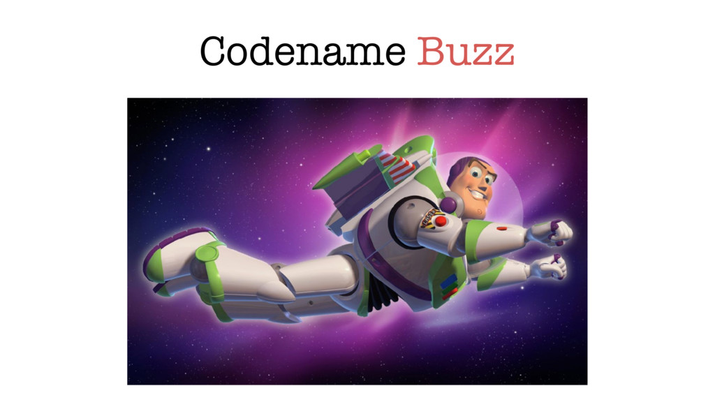 Codename Buzz