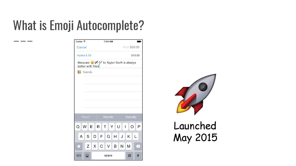 What is Emoji Autocomplete? Launched May 2015