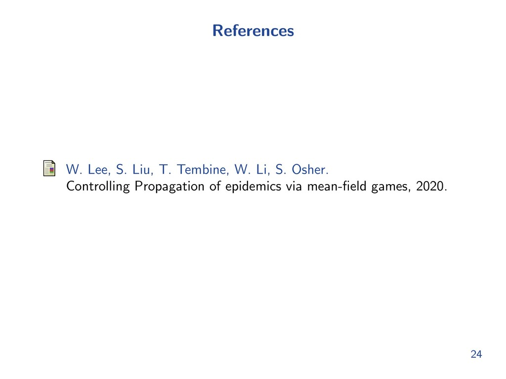 References W. Lee, S. Liu, T. Tembine, W. Li, S...