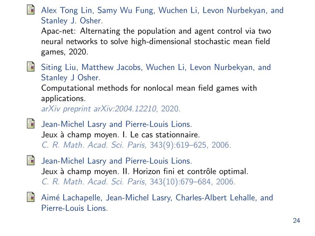 Alex Tong Lin, Samy Wu Fung, Wuchen Li, Levon N...