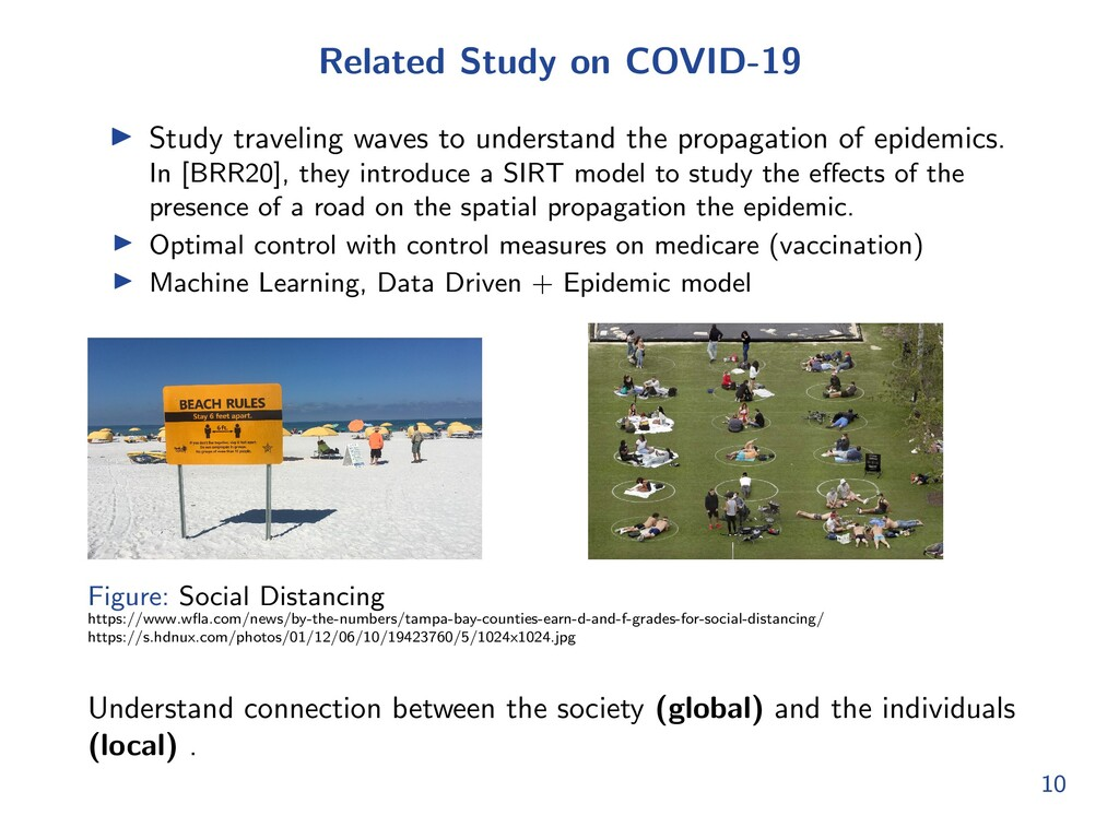 Related Study on COVID-19 I Study traveling wav...