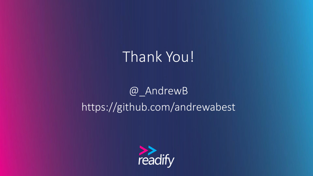 Thank You! @_AndrewB https://github.com/andrewa...