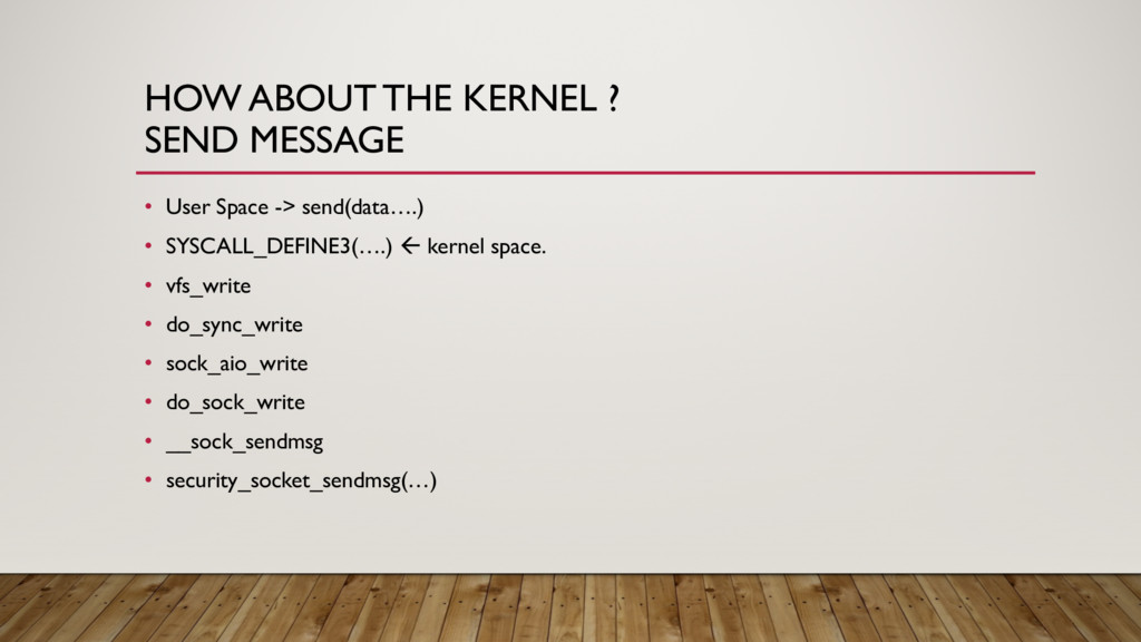 HOW ABOUT THE KERNEL ? SEND MESSAGE • User Spac...