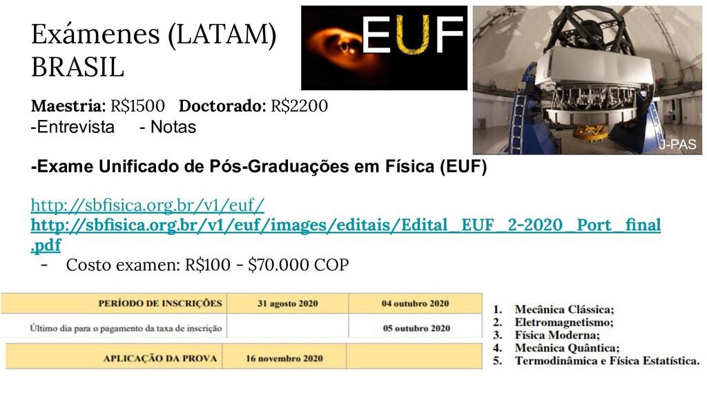 Maestria: R$1500 Doctorado: R$2200 -Entrevista ...