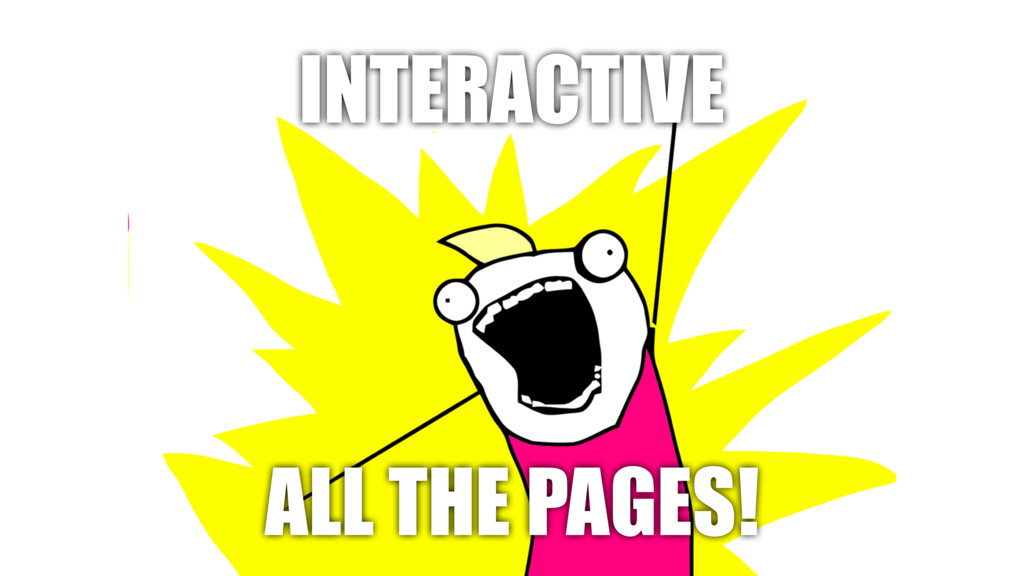 INTERACTIVE ALL THE PAGES!