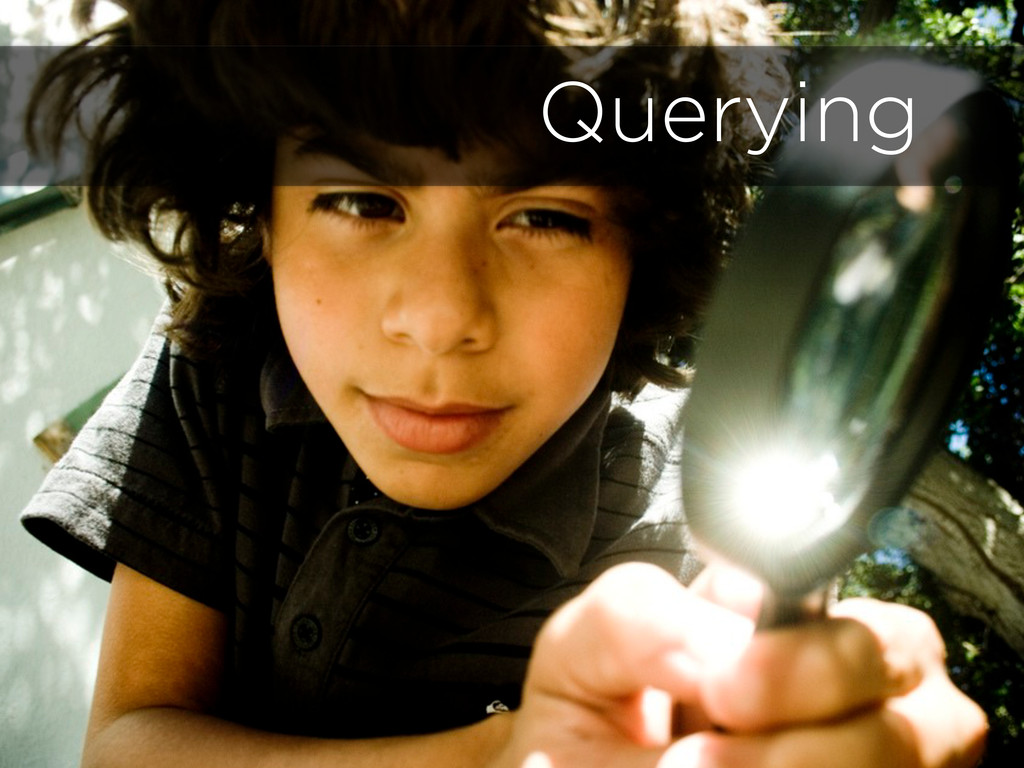 Repositories 11 Querying