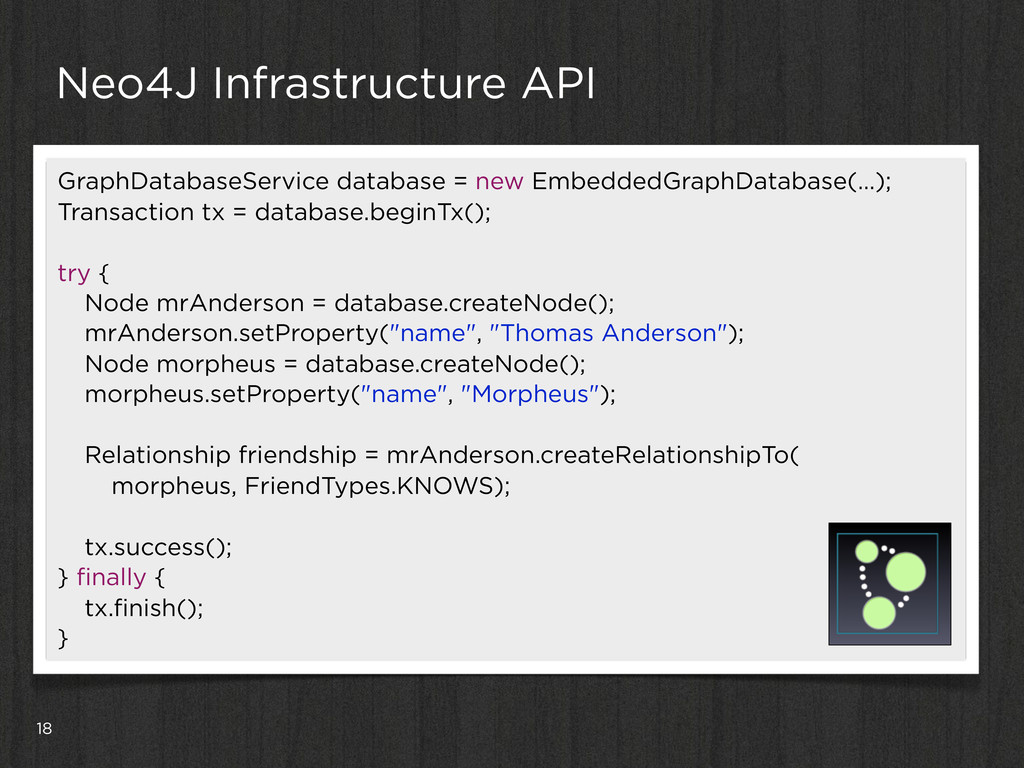 18 Neo4J Infrastructure API GraphDatabaseServic...