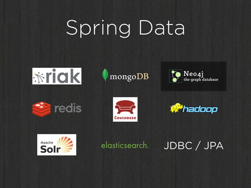 Spring Data JDBC / JPA
