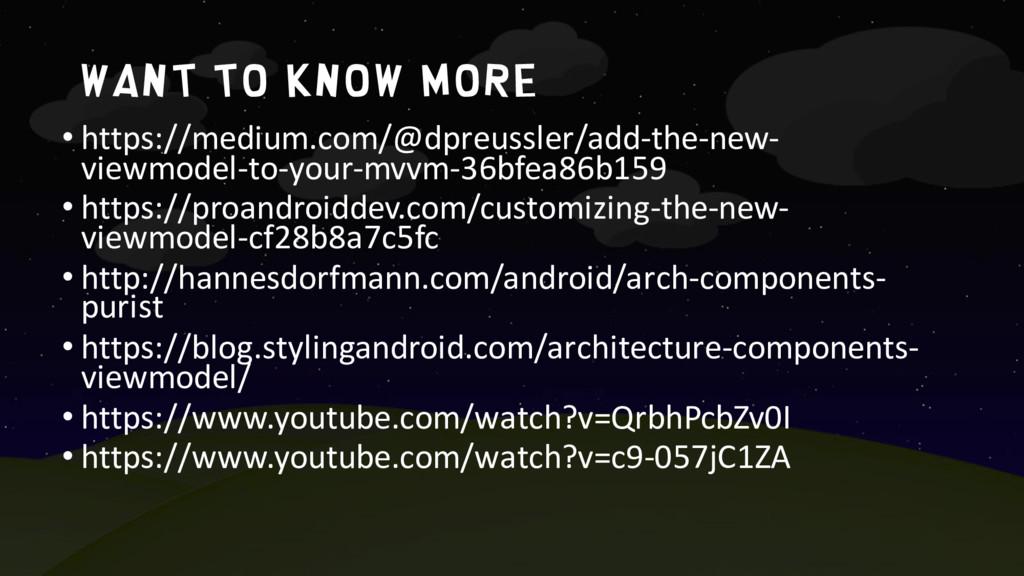 Want to know more • https://medium.com/@dpreuss...