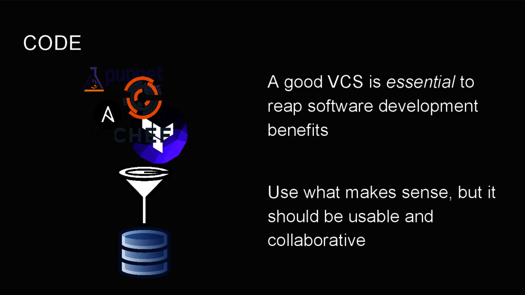 CODE A good VCS is essential to reap software d...