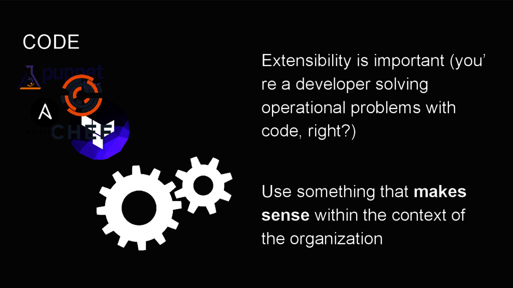 CODE Extensibility is important (you' re a deve...