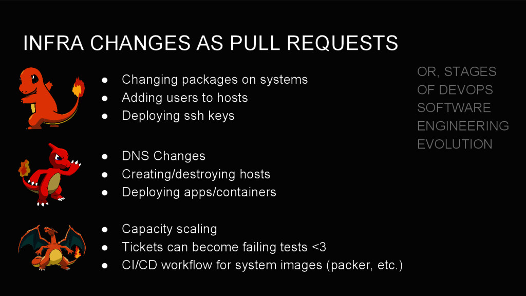 INFRA CHANGES AS PULL REQUESTS ● Changing packa...