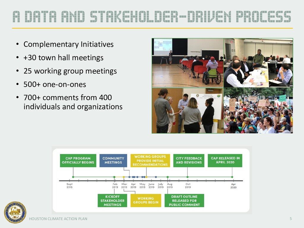 5 HOUSTON CLIMATE ACTION PLAN A DATA AND STAKEH...