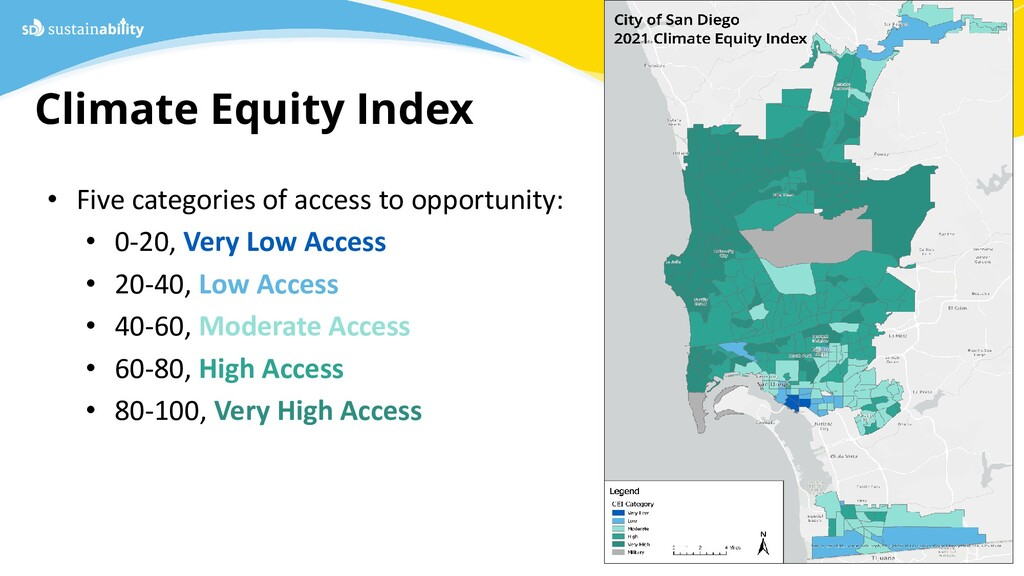 Climate Equity Index Sustainability Department ...