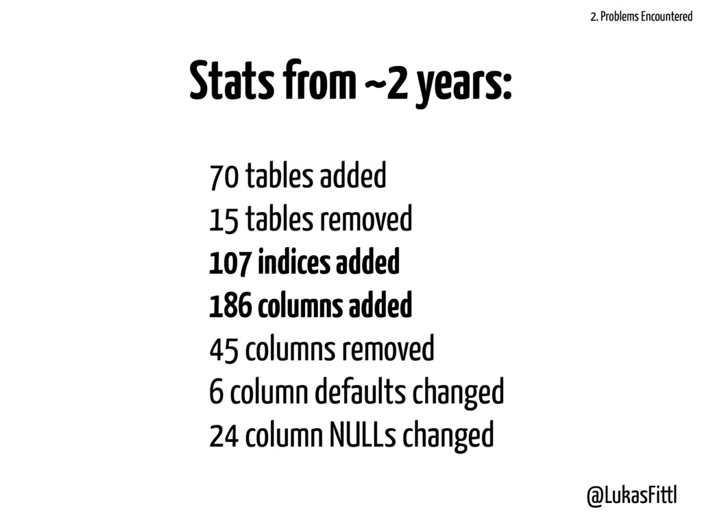 @LukasFittl Stats from ~2 years: 70 tables adde...