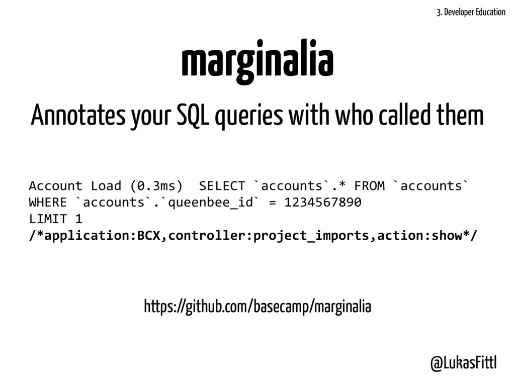 @LukasFittl marginalia Account	