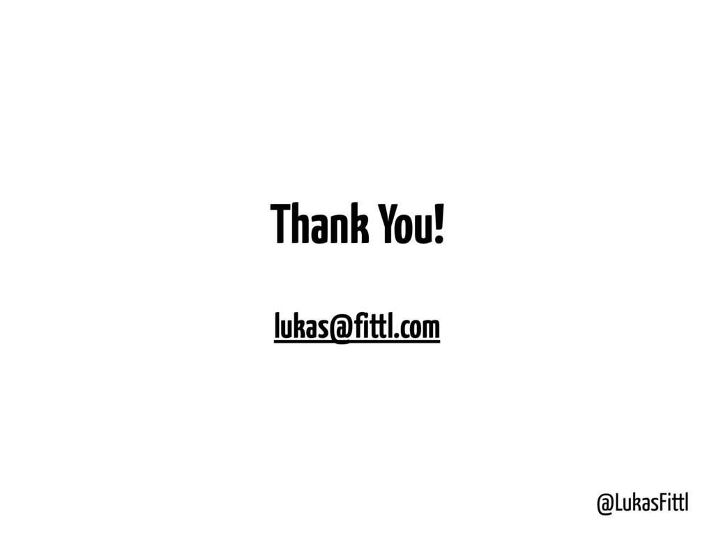 @LukasFittl Thank You! lukas@fittl.com
