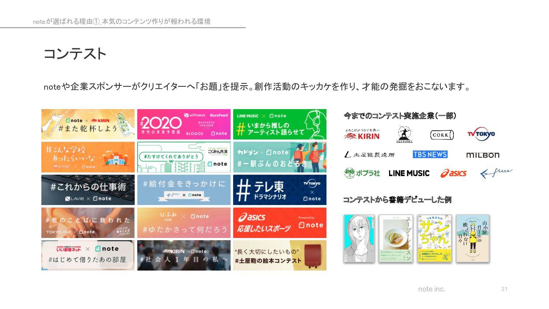 note inc. noteのビジネスモデル 21