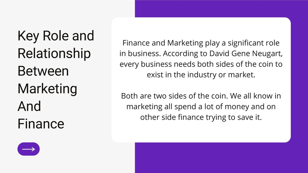Key Role and Relationship Between Marketing And...