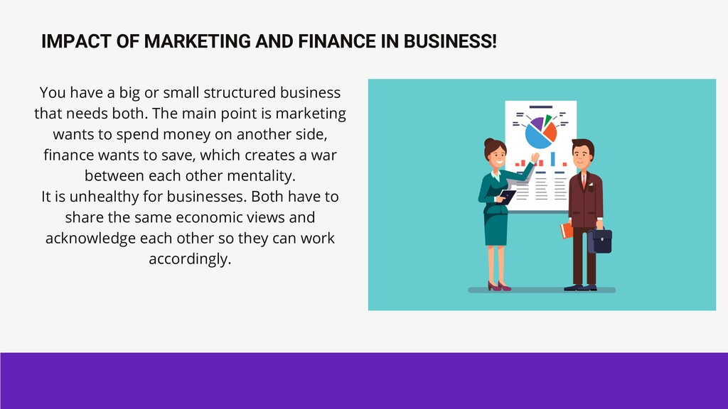 IMPACT OF MARKETING AND FINANCE IN BUSINESS! Yo...