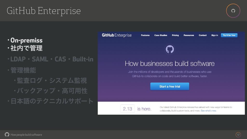 How people build software ! ! 17 GitHub Enterpr...