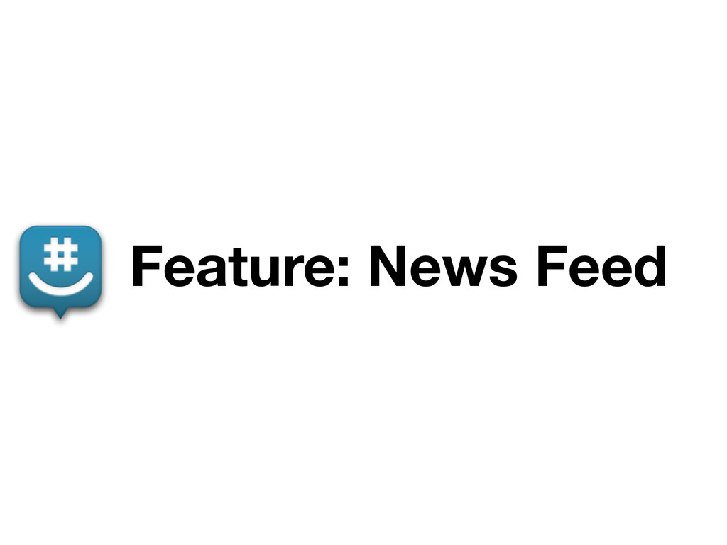 Feature: News Feed