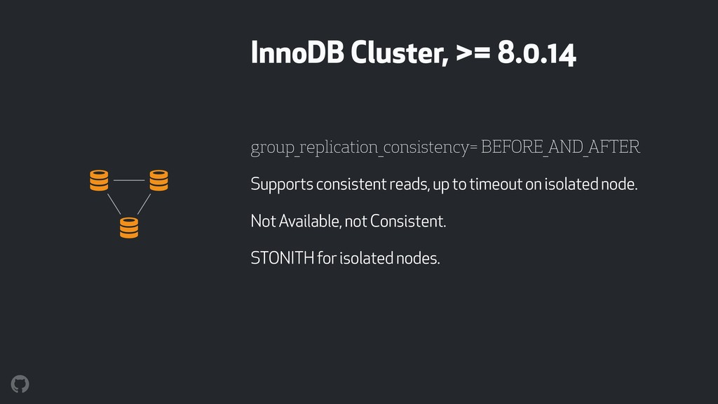 InnoDB Cluster, >= 8.0.14 group_replication_con...