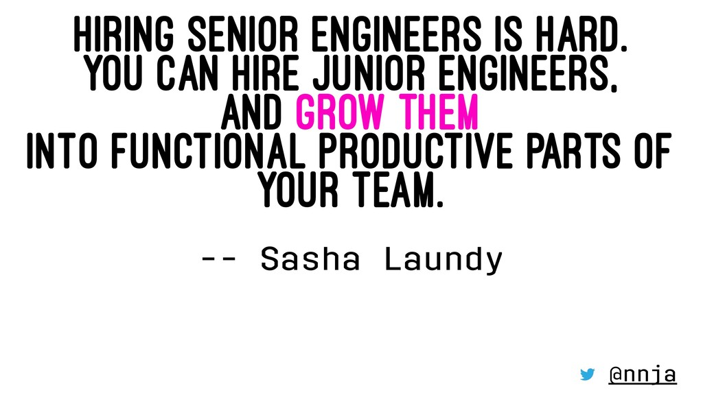 HIRING SENIOR ENGINEERS IS HARD. YOU CAN HIRE J...