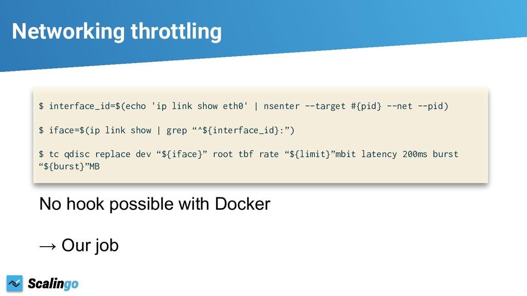 Networking throttling $ interface_id=$(echo 'ip...
