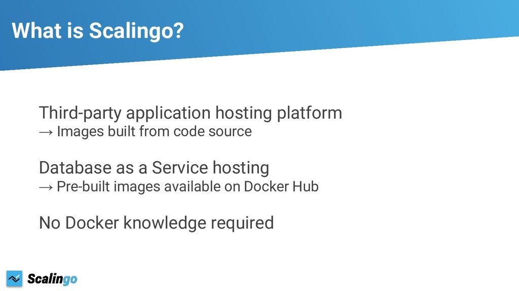 What is Scalingo? Third-party application hosti...