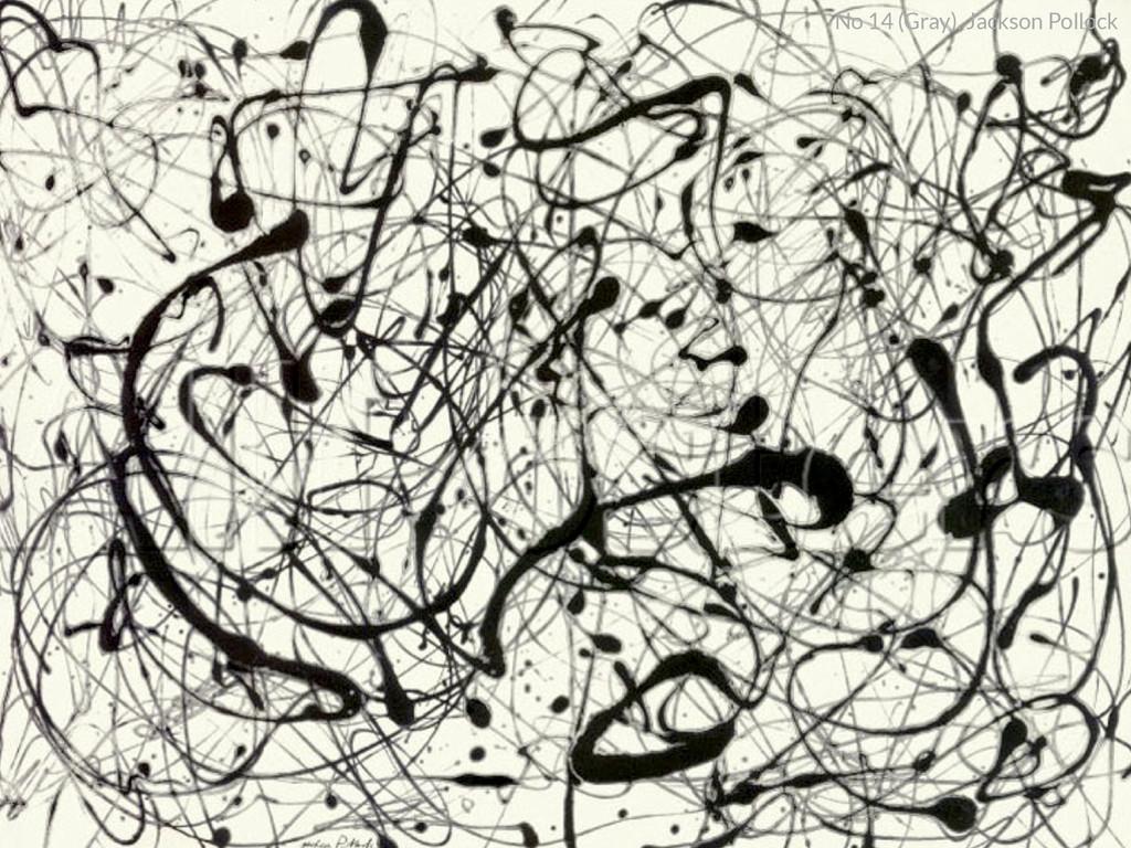 No 14 (Gray), Jackson Pollock