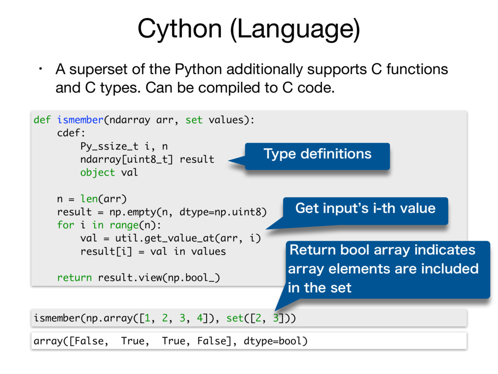 Cython (Language) • A superset of the Python ad...