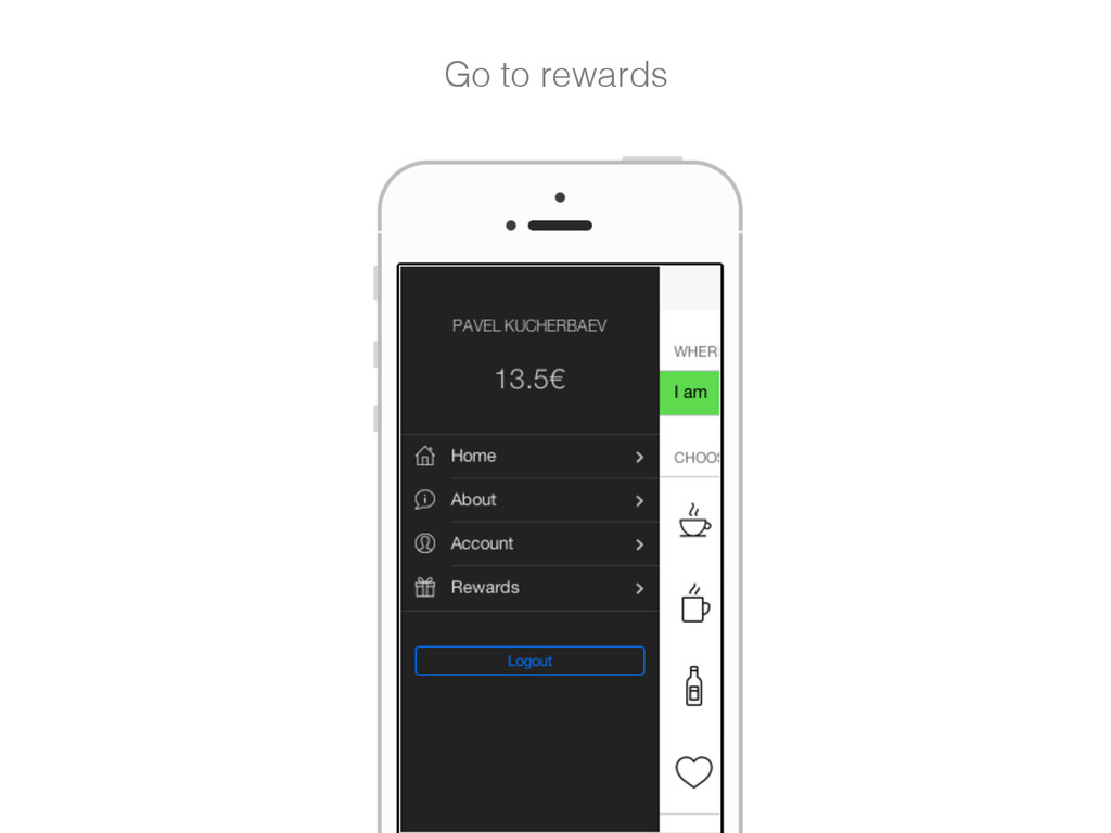 Go to rewards!