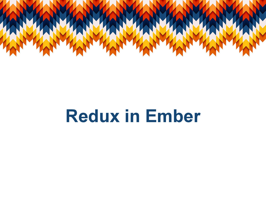 Redux in Ember