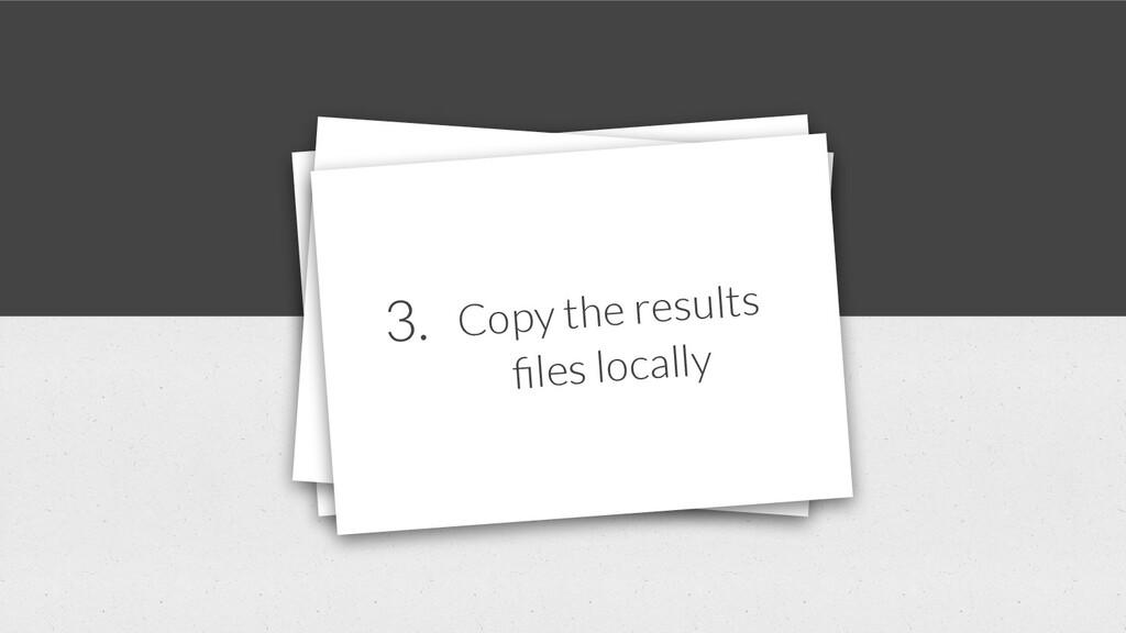1. Copy our local files to the server 7. Offline ...