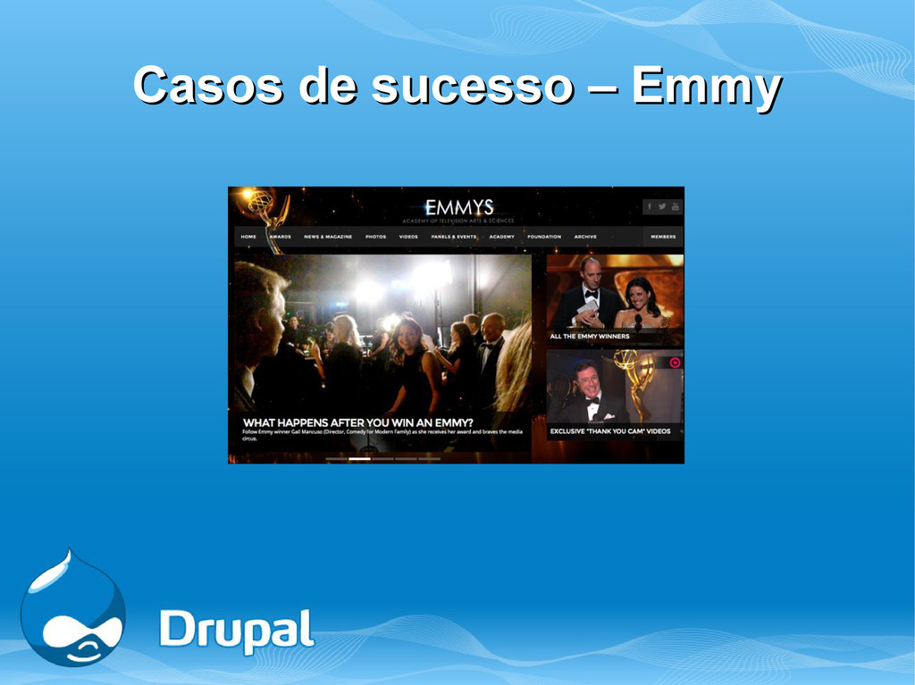 Casos de sucesso – Emmy Casos de sucesso – Emmy