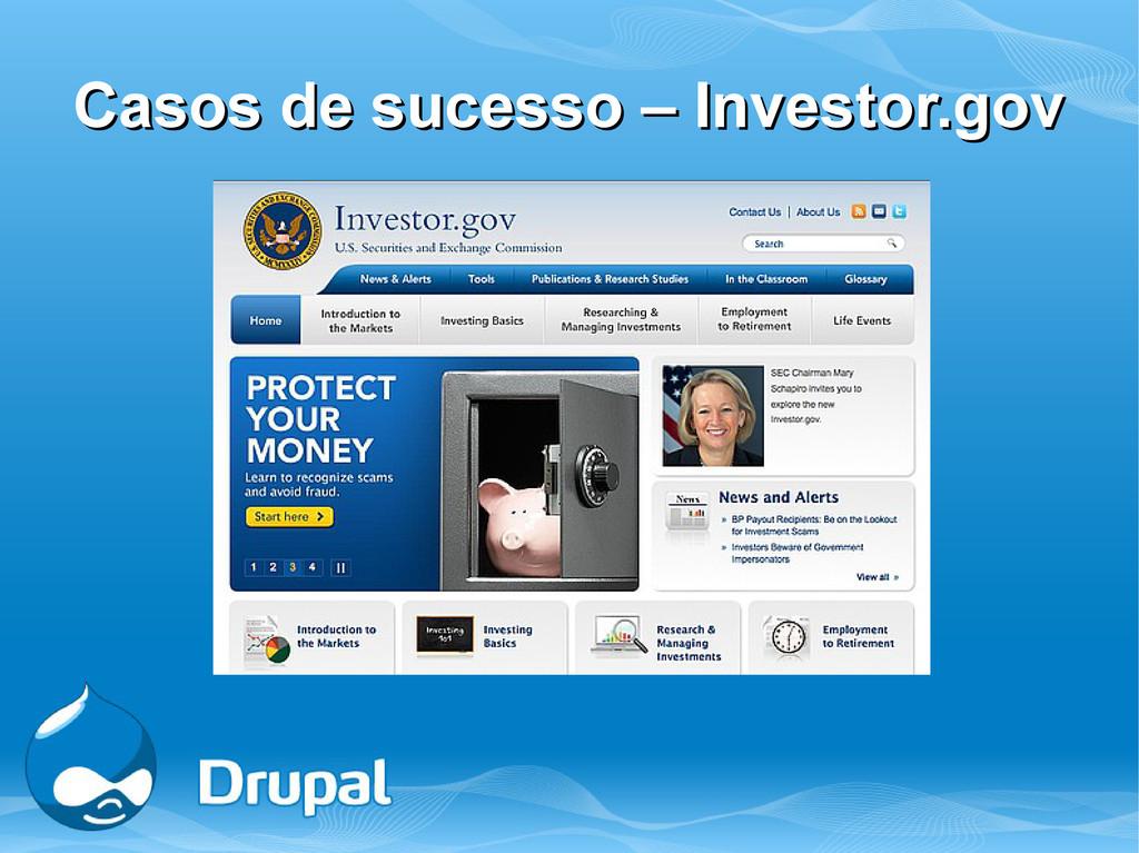 Casos de sucesso – Investor.gov Casos de sucess...
